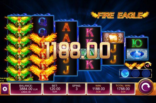 Fire Eagle :: Multiple winning paylines