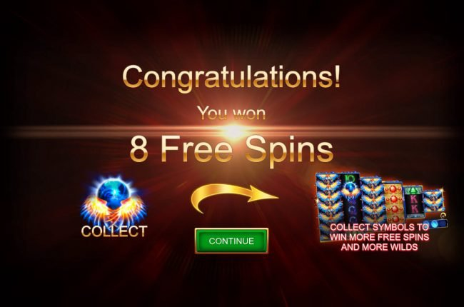 Fire Eagle :: 8 Free Spins Awarded
