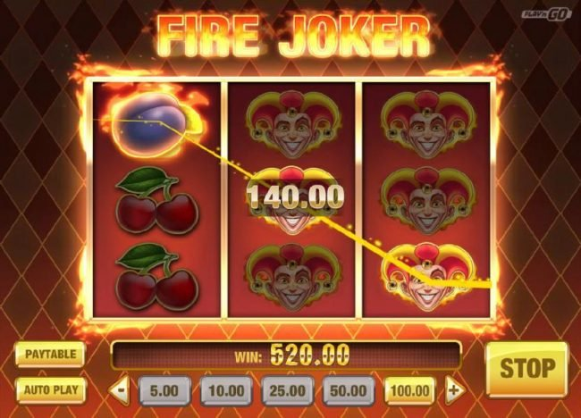 Play N Go Fire Joker Free Online Slot Review No Download