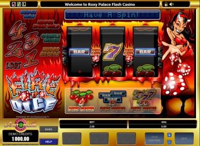 Play slots at Casino Red Kings: Casino Red Kings featuring the Video Slots Fire N Dice with a maximum payout of $5,000