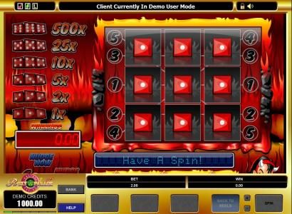 Lucky 247 featuring the Video Slots Fire N Dice with a maximum payout of $5,000