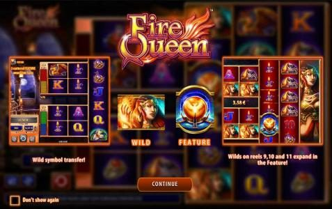 Play slots at Wicked Jackpots: Wicked Jackpots featuring the Video Slots Fire Queen with a maximum payout of $250,000