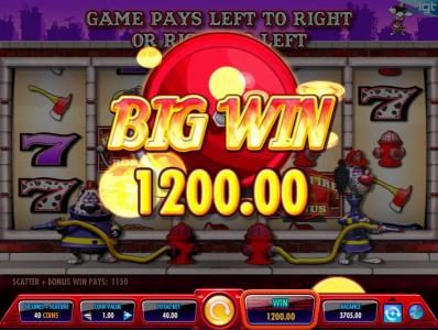 Vegas Baby featuring the Video Slots Firehouse Hounds with a maximum payout of $250,000