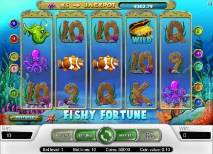 Buran featuring the Video Slots Fishy Fortune with a maximum payout of $2,000