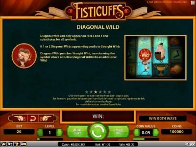Caribic featuring the Video Slots Fisticuffs with a maximum payout of $5,000