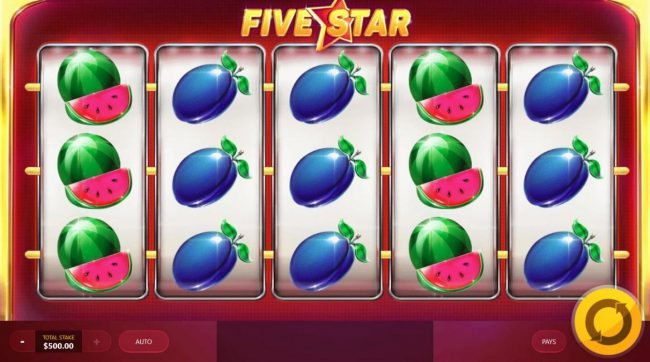 Play slots at Crazy vegas: Crazy vegas featuring the Video Slots Five Star with a maximum payout of $10,000