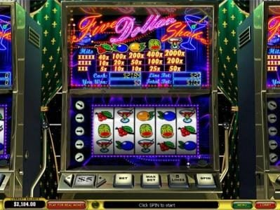Play slots at Casino.com: Casino.com featuring the Video Slots Five Dollar Shake with a maximum payout of $40,000