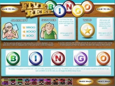 Mayan Fortune featuring the Video Slots Five Reel Bingo with a maximum payout of $3,750