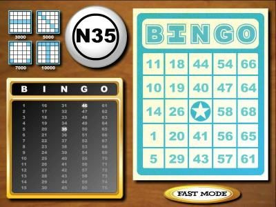 Vanguard featuring the Video Slots Five Reel Bingo with a maximum payout of $3,750