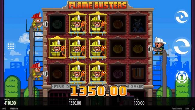 Betchan featuring the Video Slots Roasty McFry and the Flame Busters with a maximum payout of $528,000