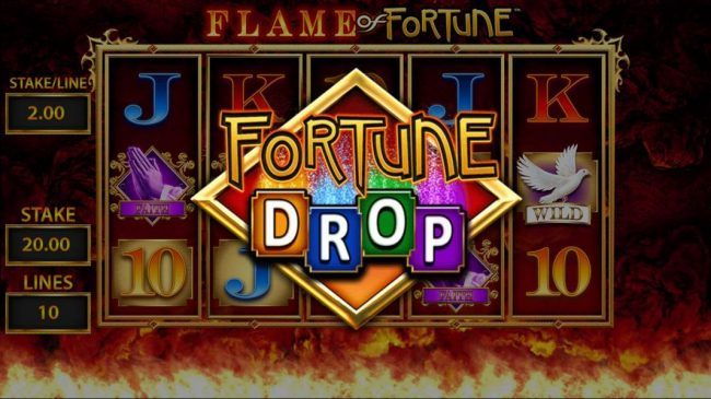 Karl Casino featuring the Video Slots Flame of Fortune with a maximum payout of $250,000