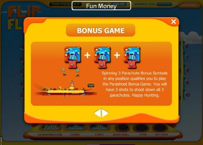 Casino Red Kings featuring the Video Slots Flip Flap with a maximum payout of $15,000