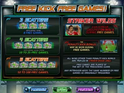 Sloto Cash featuring the Video Slots Football Frenzy! with a maximum payout of $250,000
