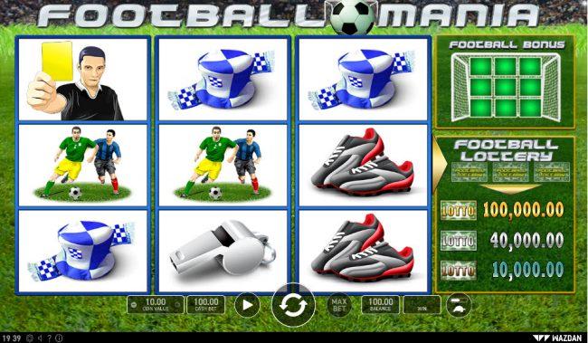 Football Mania :: Main Game Board