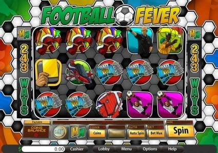 Play slots at Villa Fortuna: Villa Fortuna featuring the Video Slots Football Fever with a maximum payout of $937.50