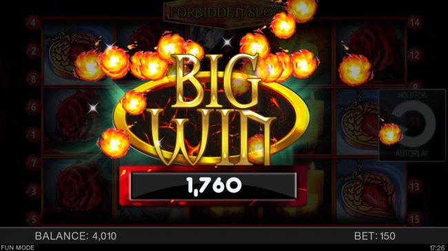 Forbidden Slot :: Big Win