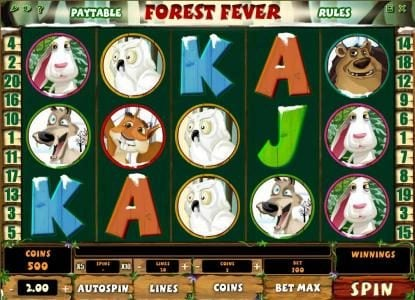 Play slots at Win British: Win British featuring the Video Slots Forest Fever with a maximum payout of $100,000