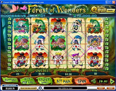 Play slots at Omni: Omni featuring the video-Slots Forest of Wonders with a maximum payout of Jackpot