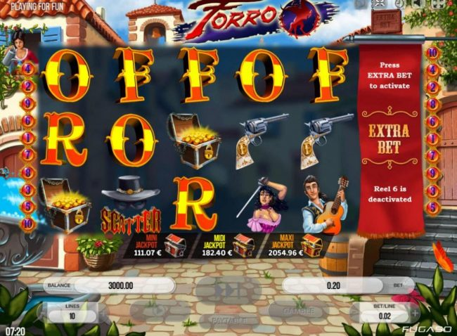 Play slots at Viggoslots: Viggoslots featuring the Video Slots Forro with a maximum payout of $750,000