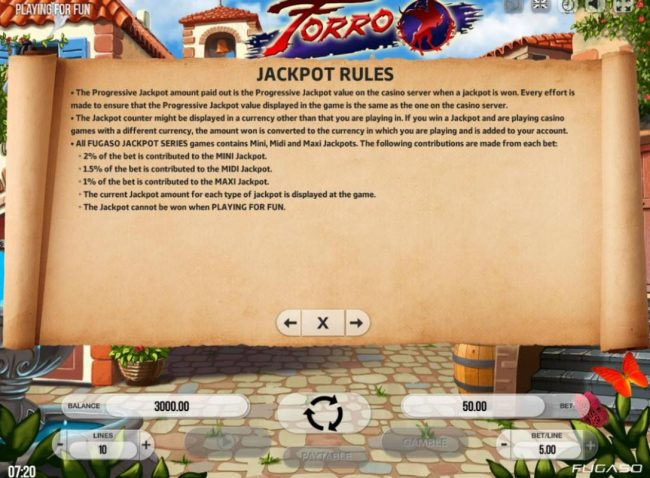 Kingbit Casino featuring the Video Slots Forro with a maximum payout of $750,000
