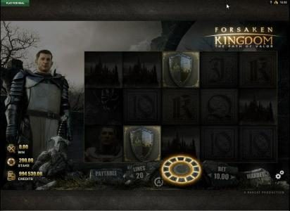 Forsaken Kingdom The Path of Valor :: Collect all 12 knights to trigger the Round Table of Fortune Bonus Game