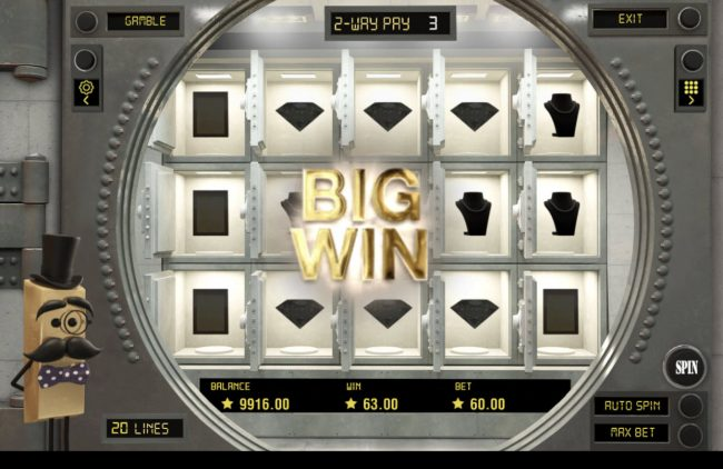 Jellybean Casino featuring the Video Slots Fort Knox with a maximum payout of $30,000