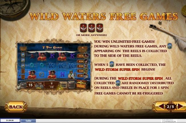 Fortunate 5 :: Wild Waters Free Games