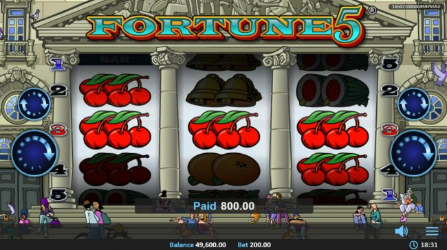 Fortune 5 :: Multiple winning paylines
