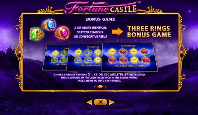 Fortune Castle :: Bonus Game Rules