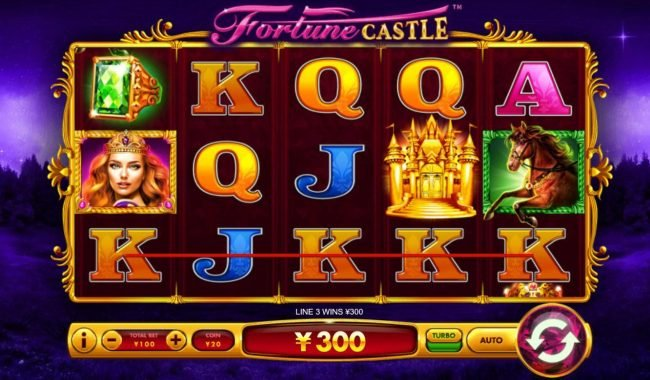 Fortune Castle :: A winning Three of a Kind