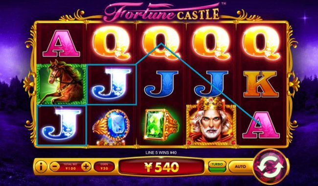 Fortune Castle :: Multiple winning paylines