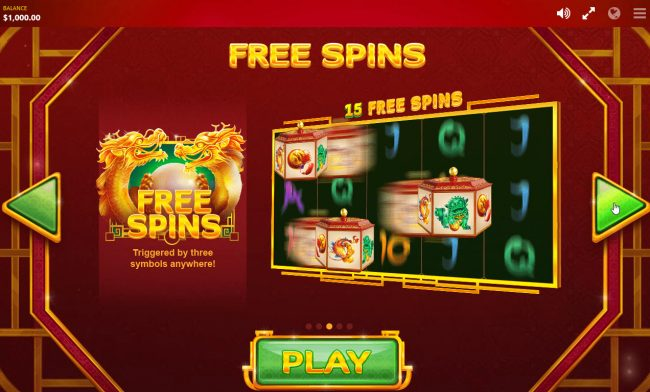 Fortune Charm :: Free Spins Rules