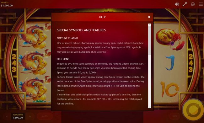 Fortune Charm :: General Game Rules