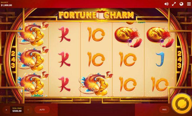 Fortune Charm :: Main Game Board