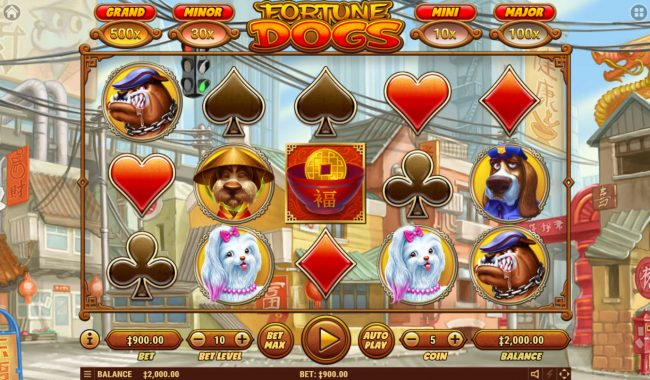 Fortune Dogs :: Main Game Board