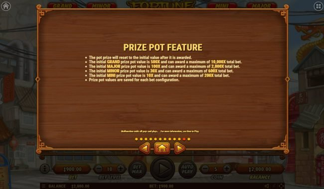 7 Gods Casino featuring the Video Slots Fortune Dogs with a maximum payout of $500,000