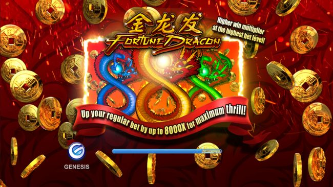 Play slots at Joy Casino: Joy Casino featuring the Video Slots Fortune Dragon with a maximum payout of $32,000