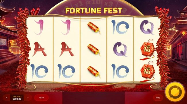 Play slots at Spinamba: Spinamba featuring the Video Slots Fortune Fest with a maximum payout of $25,000
