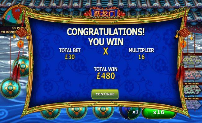Winner Online featuring the Video Slots Fortune Jump with a maximum payout of $12,500