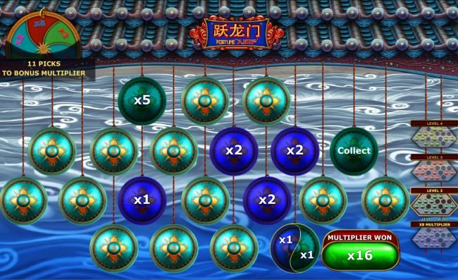 Windows featuring the Video Slots Fortune Jump with a maximum payout of $12,500