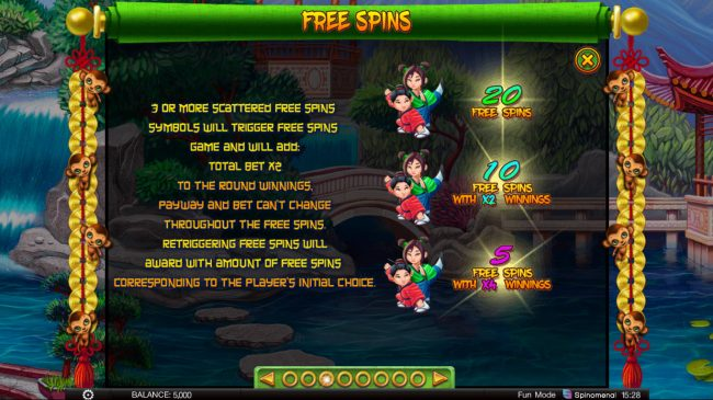 Fortune Keepers :: Free Spins Rules