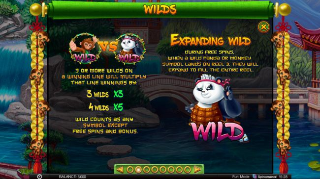 Fortune Keepers :: Wild Symbol Rules
