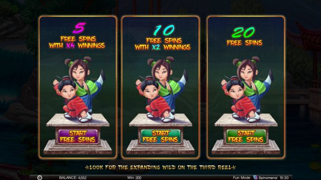 Fortune Keepers :: Choose Your Free Games Feature