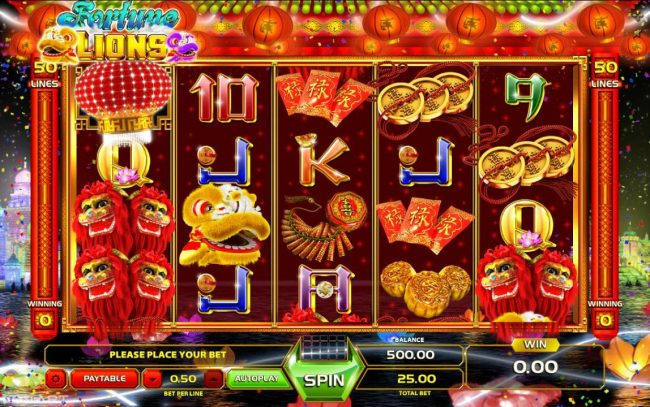 Play slots at Melbet: Melbet featuring the Video Slots Fortune Lions with a maximum payout of $12,500