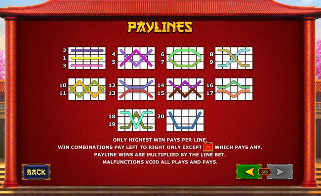 Fly Casino featuring the Video Slots Fortune Lions with a maximum payout of $500,000