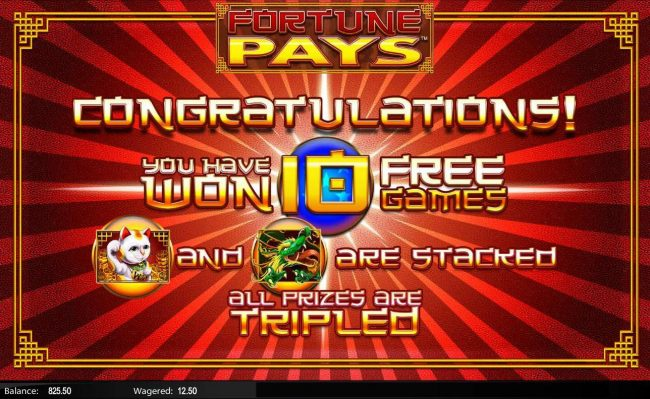 Lightbet featuring the Video Slots Fortune Pays with a maximum payout of $62,500
