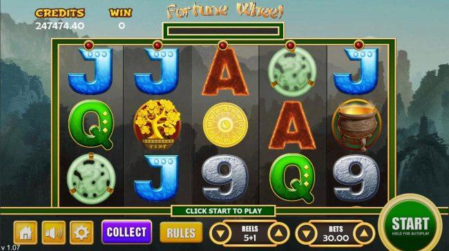 Fortune Wheel :: Main Game Board