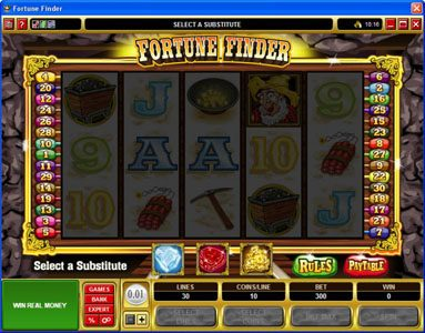 Play slots at Vegas Palms: Vegas Palms featuring the Video Slots Fortune Finder with a maximum payout of $30,000