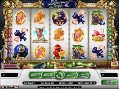 DruckGluck featuring the Video Slots Fortune Teller with a maximum payout of $15,000