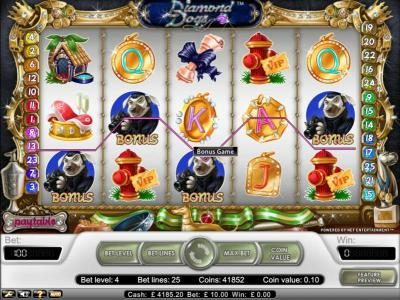 Fun Casino featuring the Video Slots Fortune Teller with a maximum payout of $15,000